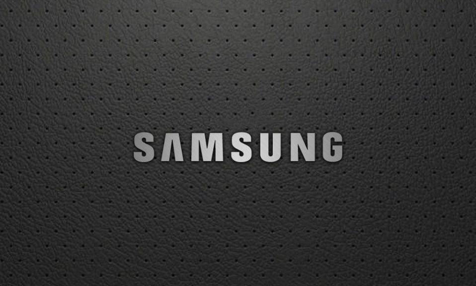 Cubierta del logo de Samsung