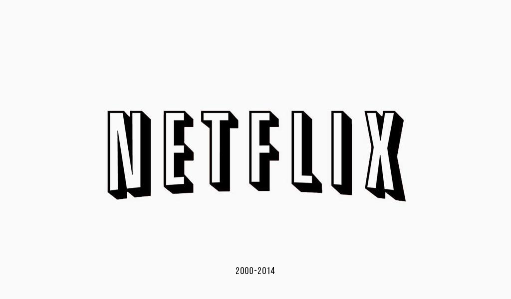 Logotipo antiguo de Netflix