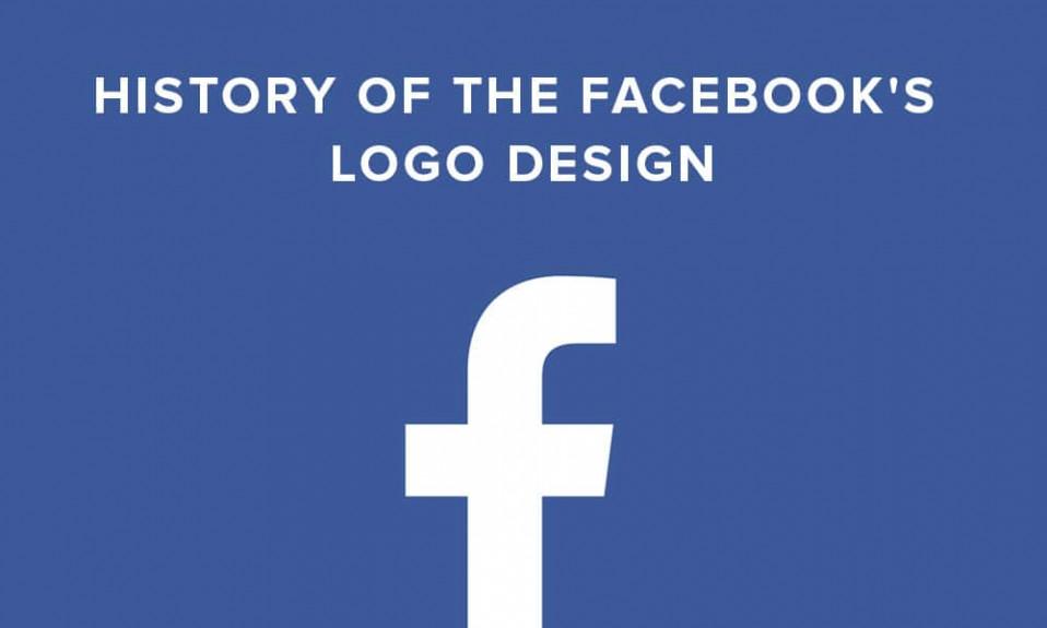 Portada del diseño del logotipo de Facebook