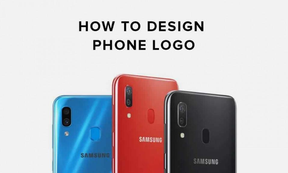 Cómo diseñar la cubierta del logotipo del teléfono