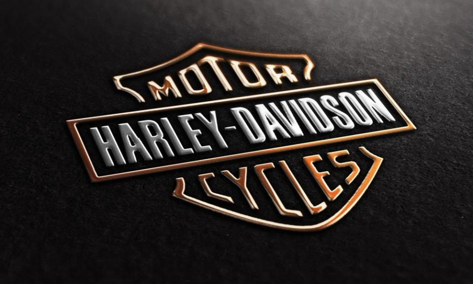 Evolución del logo de harley davidson