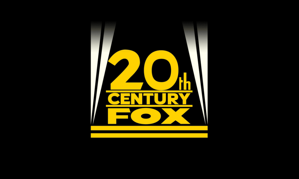 20th century fox logo, flat