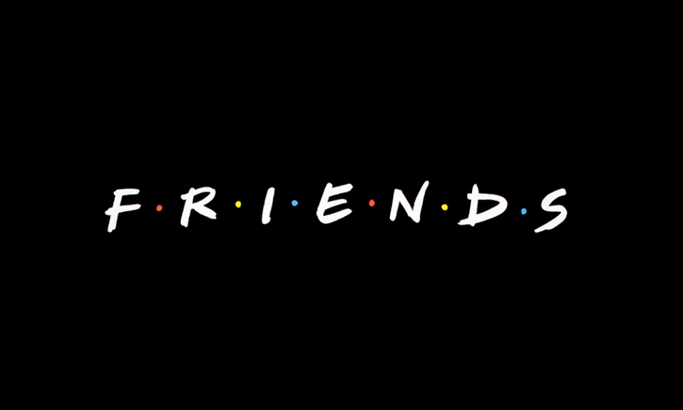 Friends logo cover