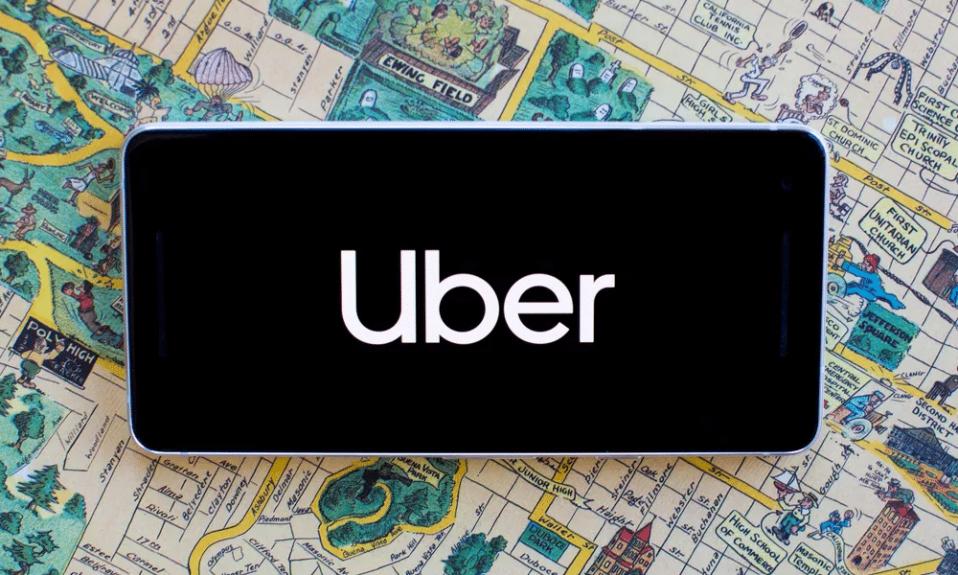 Uber logo cover