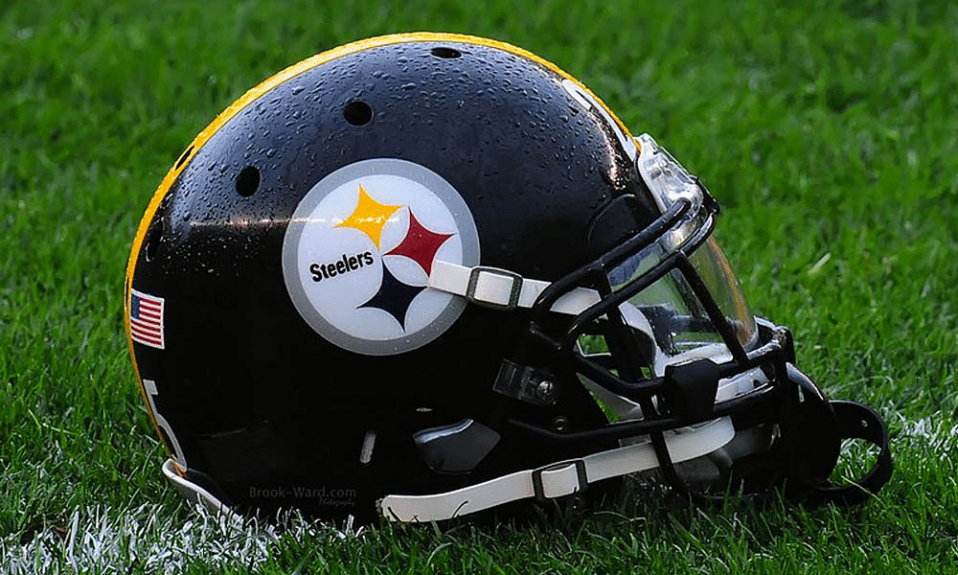 Pittsburgh Steelers logo cover