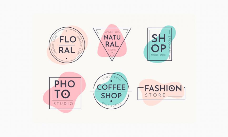 Logotipos pastel
