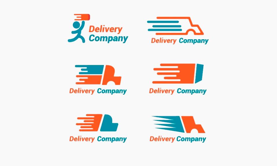 Logotipos de entrega