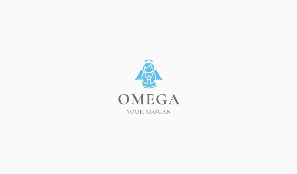 Logotipo de ángel