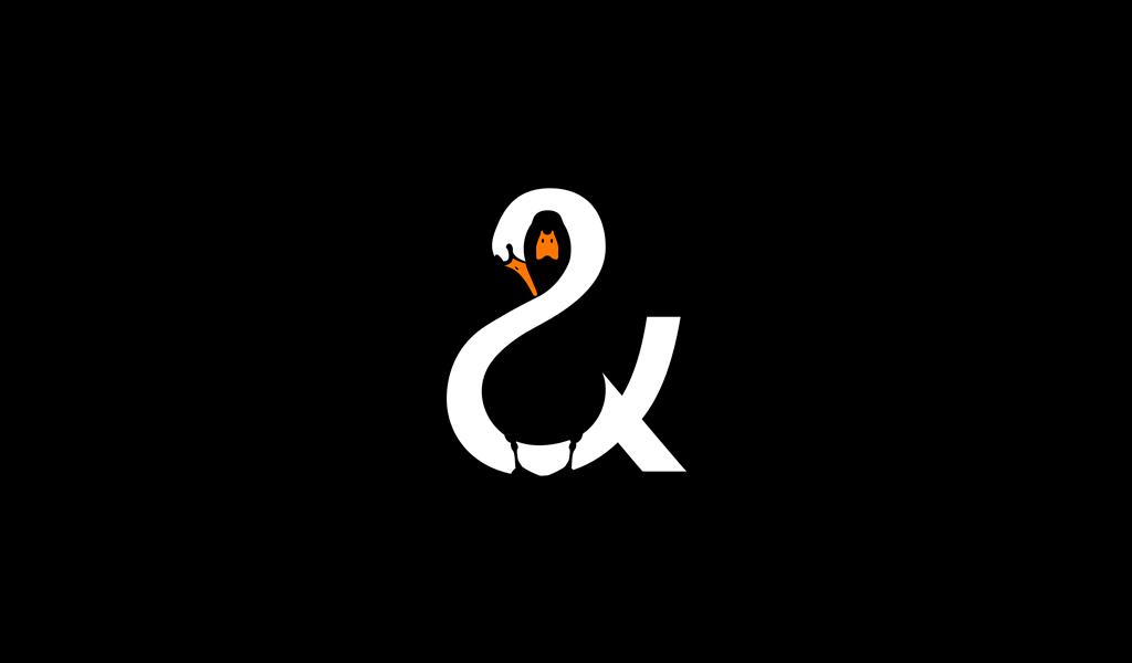 The Swan and Mallard logo