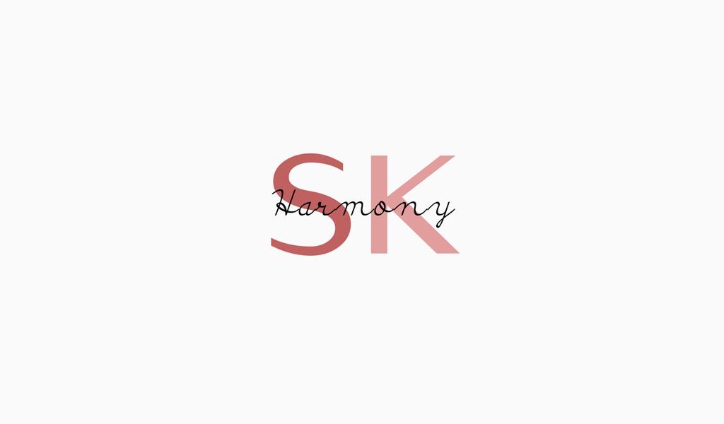Logotipo del monograma S K