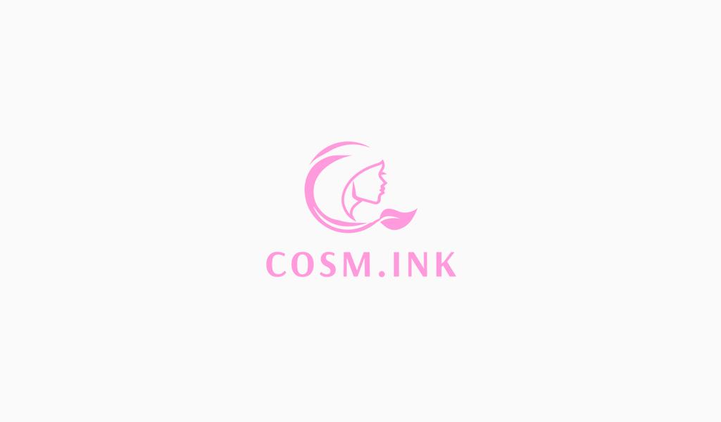 Logotipo de niña rosa
