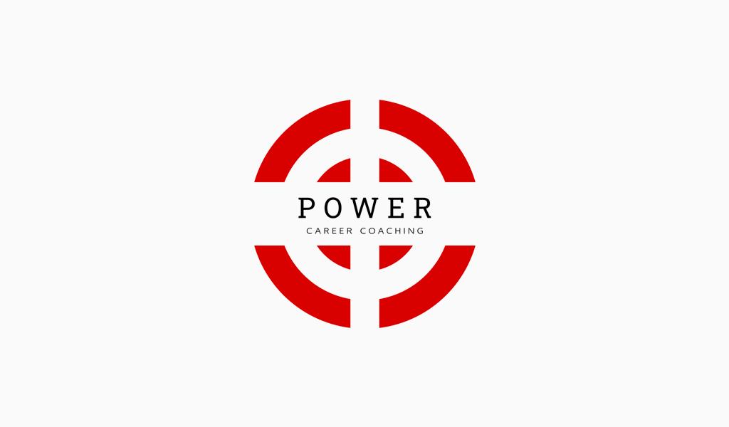 Logotipo de objetivo rojo