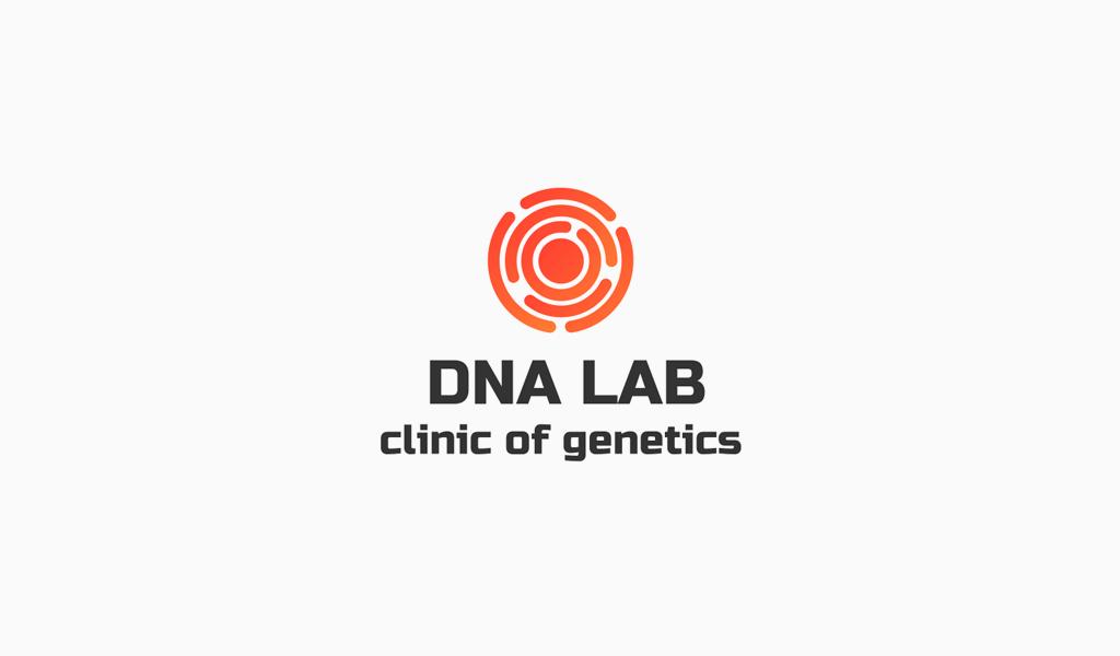 Logotipo de símbolo redondo abstracto