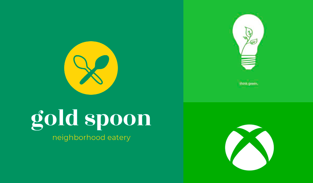 Logos verdes