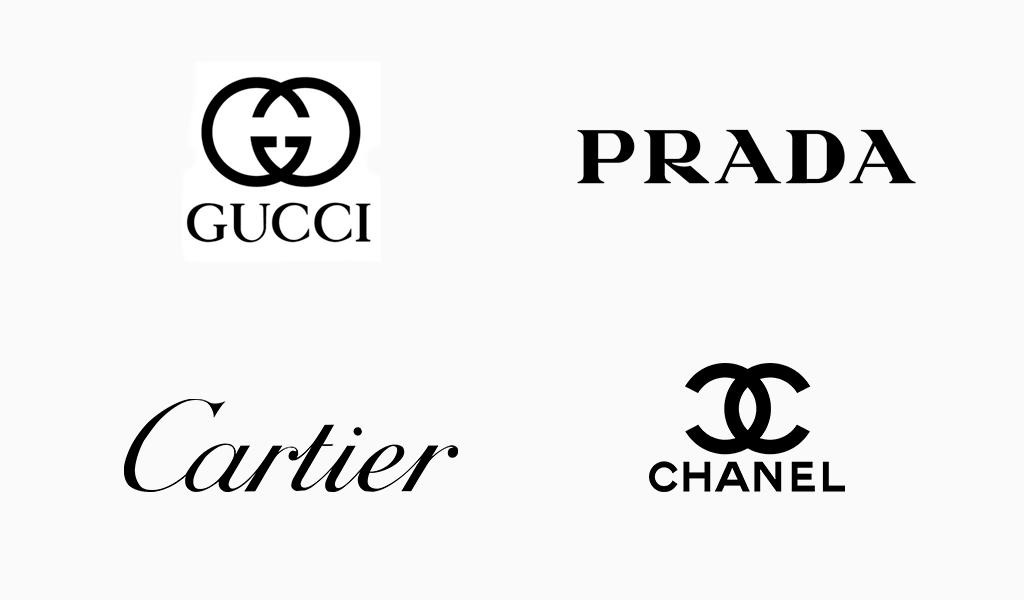 famosa imagen de logotipos negros