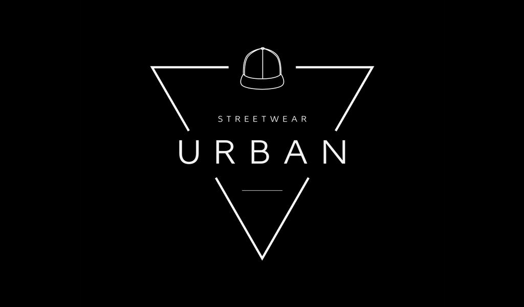 Logotipo de triángulo y gorra