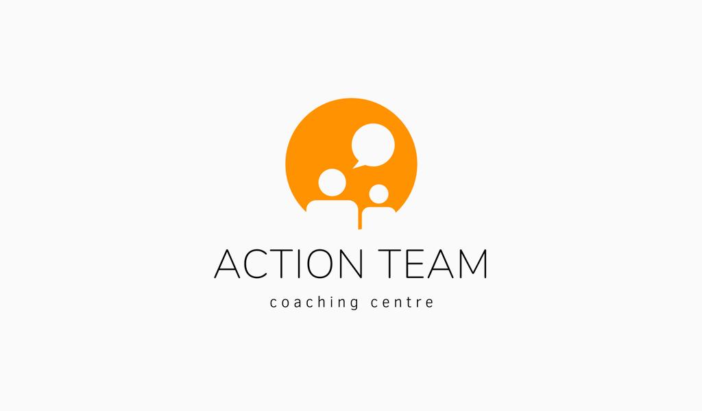 Logotipo de personas hablando