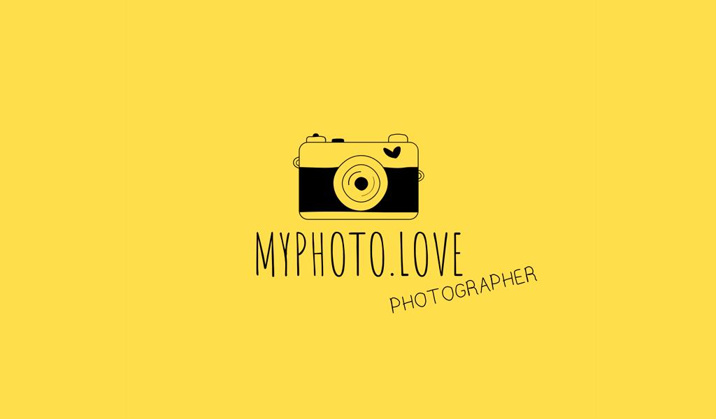 Logotipo de la cámara negra vintage