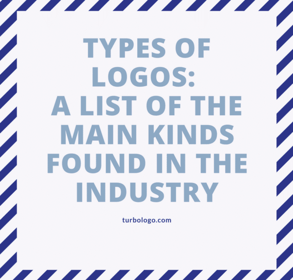 Types of Logos: A list of the main kinds found in the industry