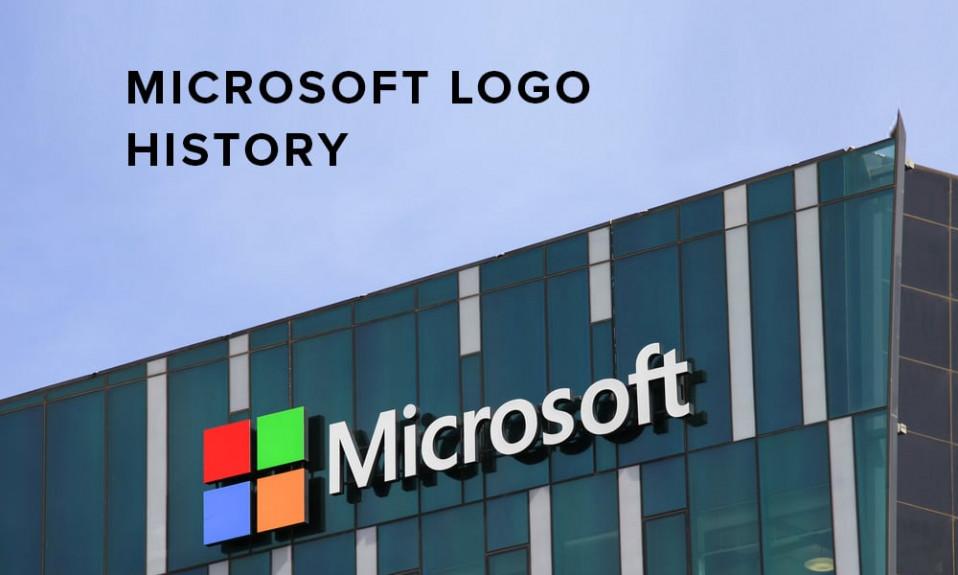 Microsoft logo illustration