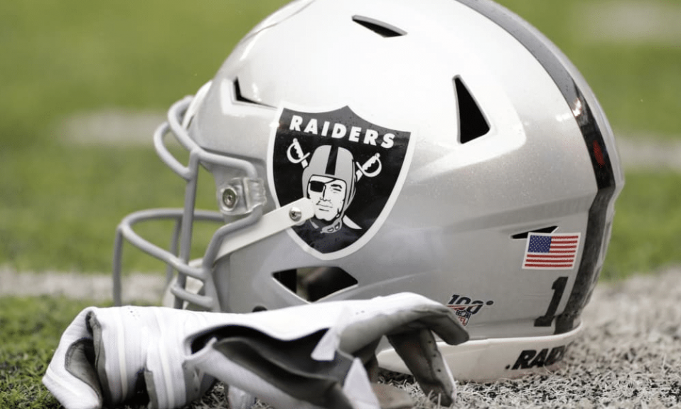 Oakland Raiders logo cover