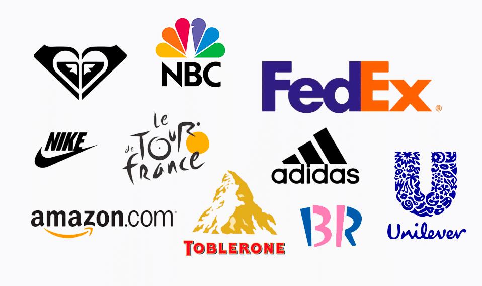 logos avec massage caché
