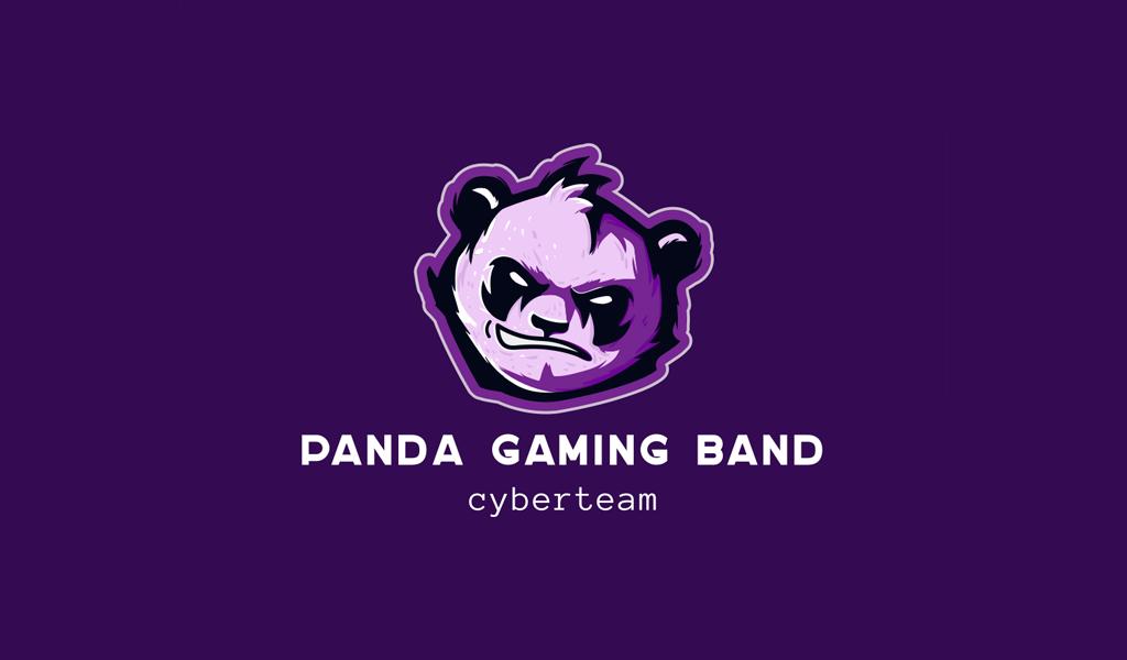 Logo de jeu de panda