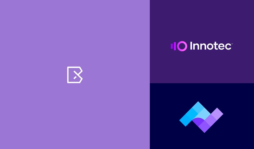 logos de couleur violette
