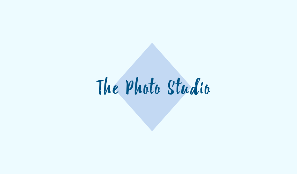 Logo de losange bleu