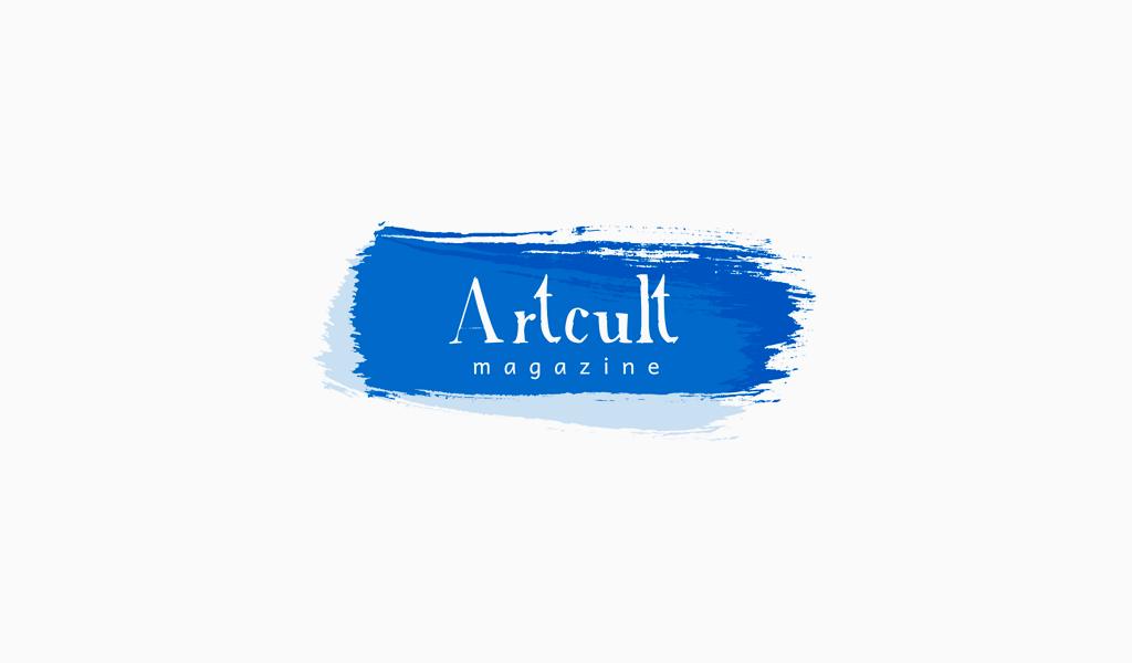 Logo de frottis de peinture double couche