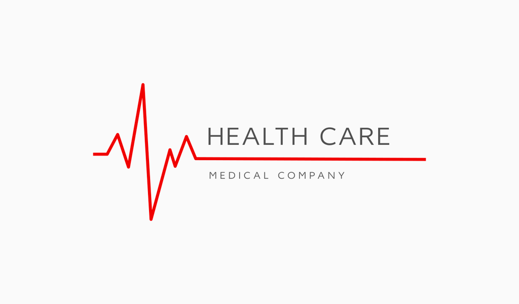 Logo de la ligne de battement de coeur