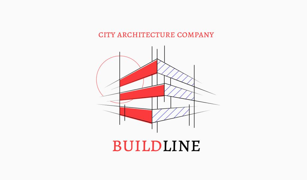 Logo de dessin architectural