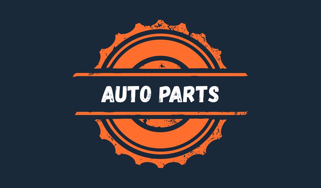 Logo de pièces automobiles