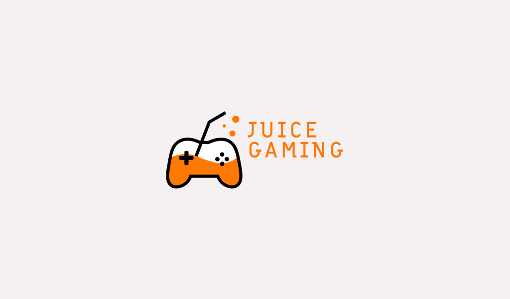 Logo de jus de manette de jeu