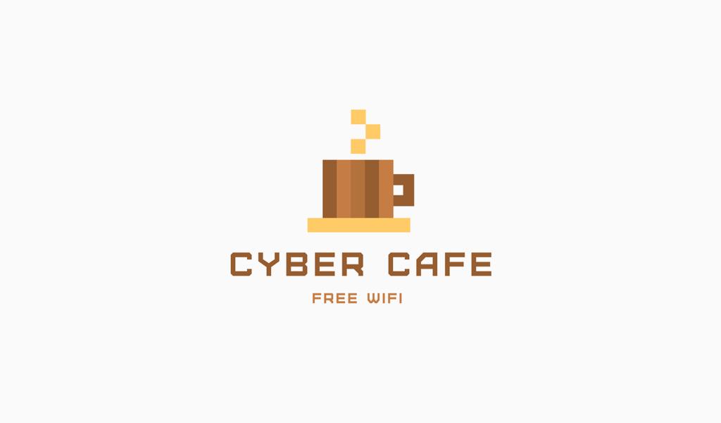 Logo de Pixels de tasse