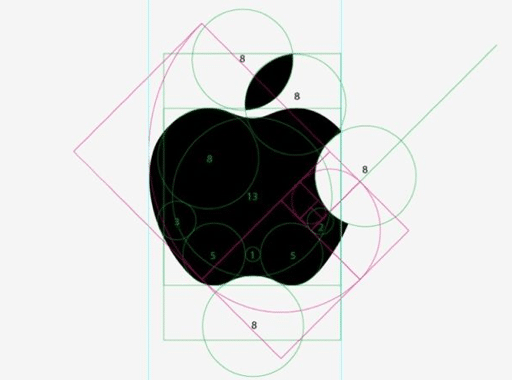 Processo di progettazione del logo Apple