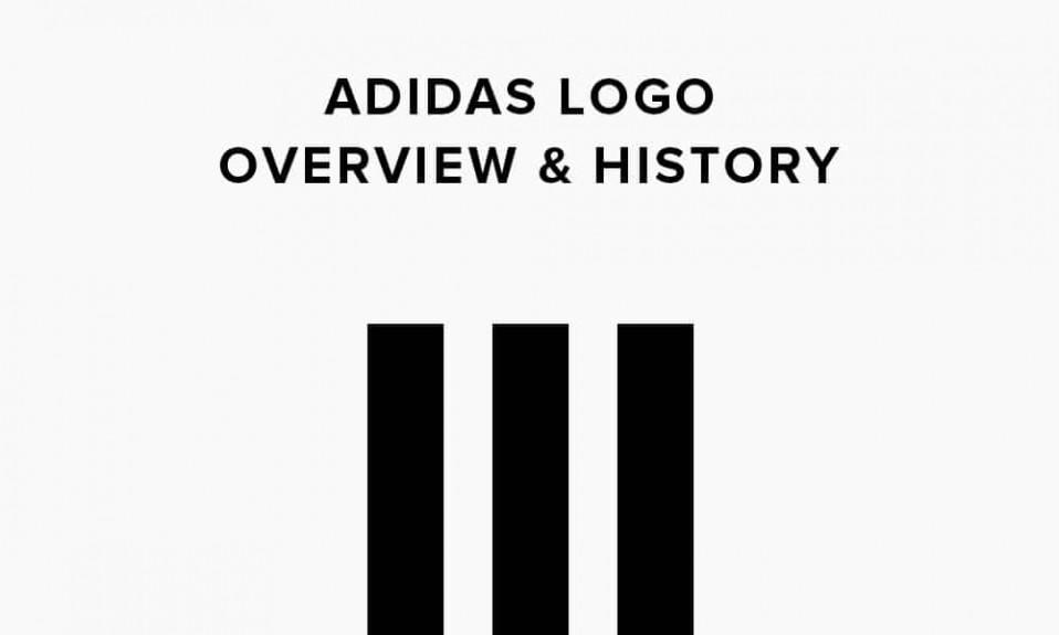 Illustrazione di storia del logo Adidas