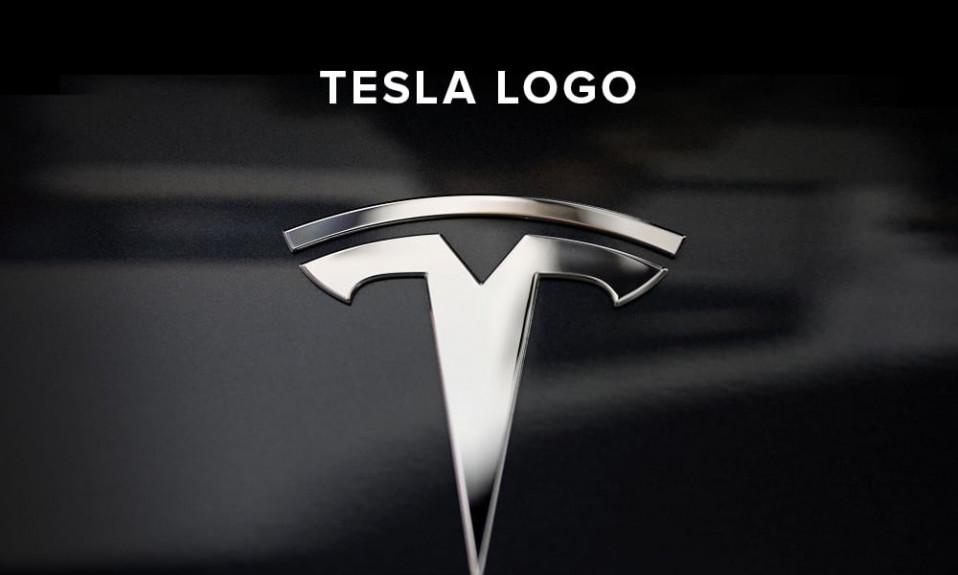 Tesla logo illustration
