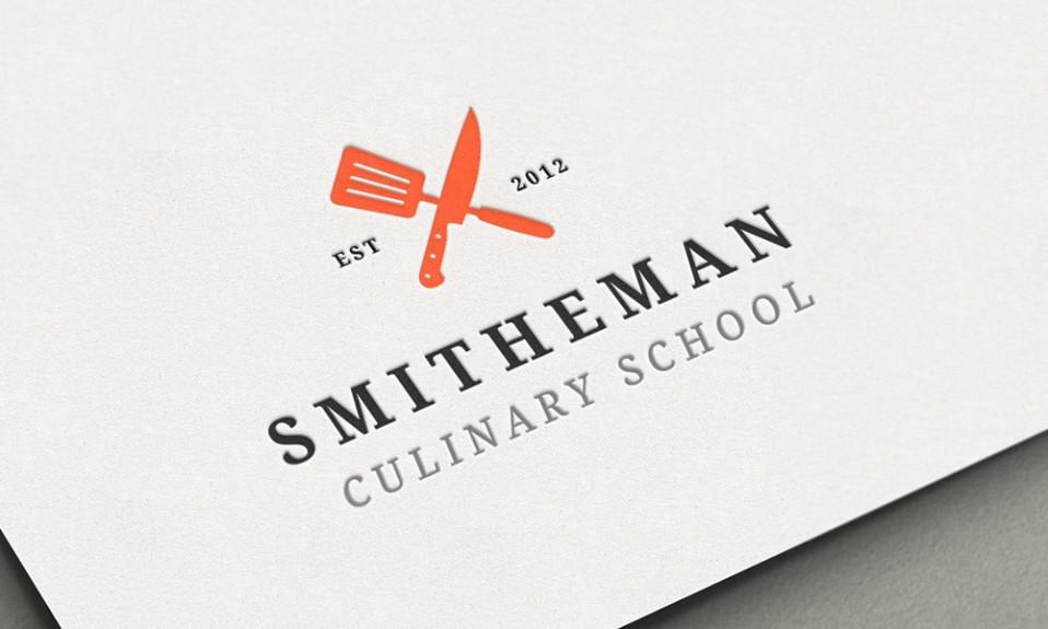 Design del logo del ristorante