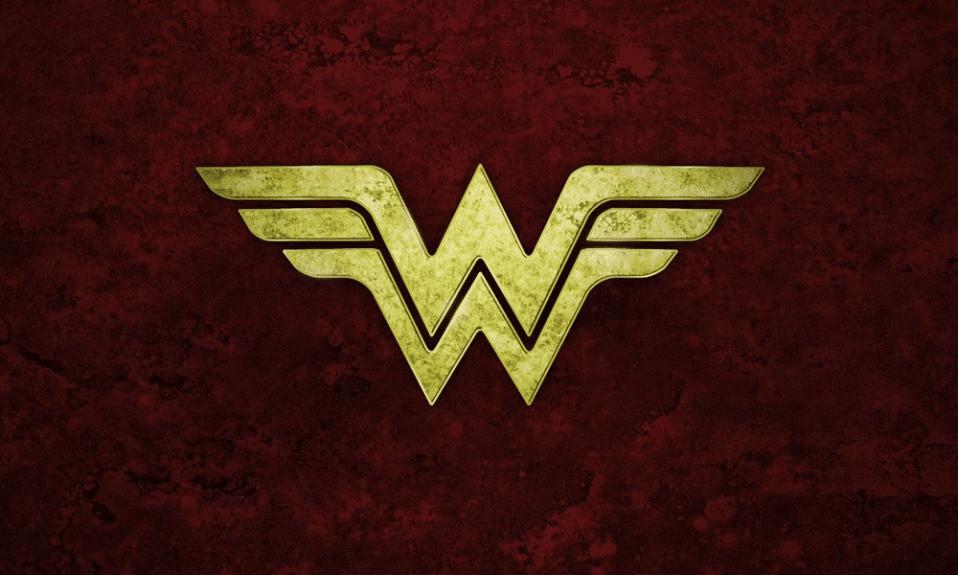 Wonder woman logo cover