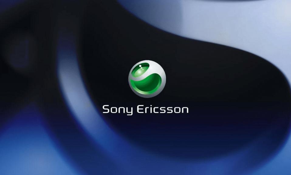 Sony Ericsson logo cover