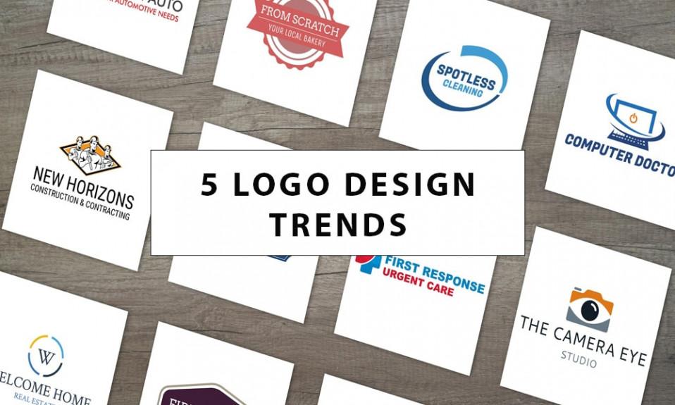 5 tendenze del design del logo del 2020