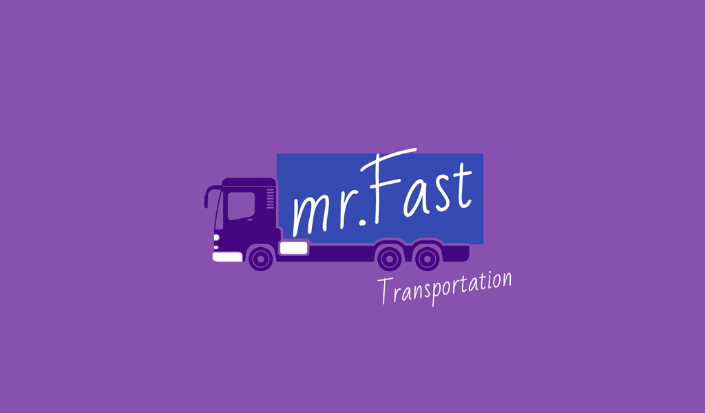 Logo camion viola
