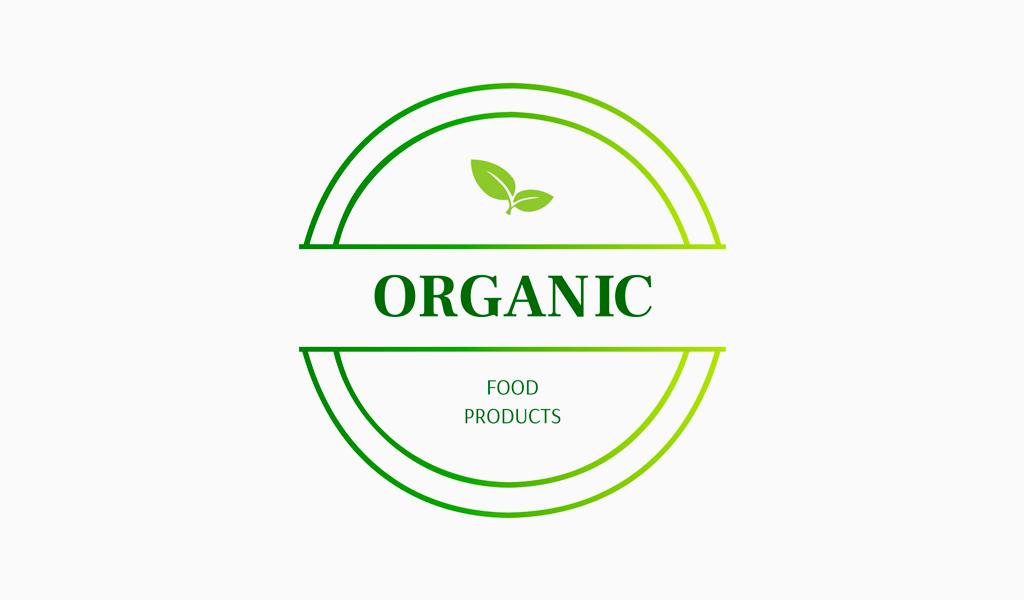 Logo verde della pianta