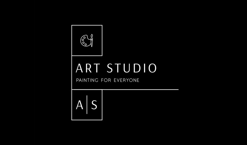 Tavolozza lettere A s Logo
