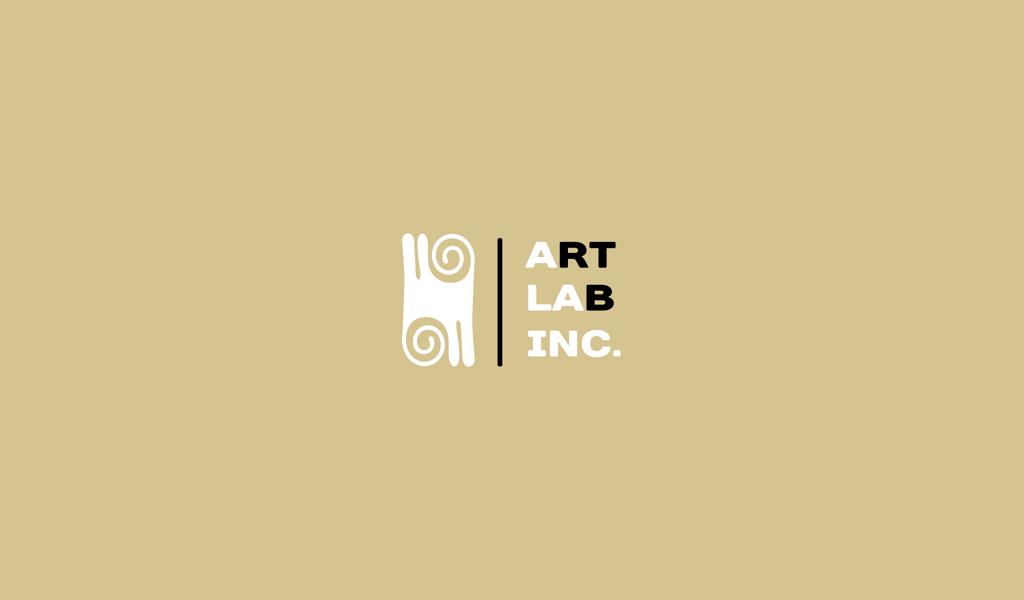 Design del logo di arte astratta