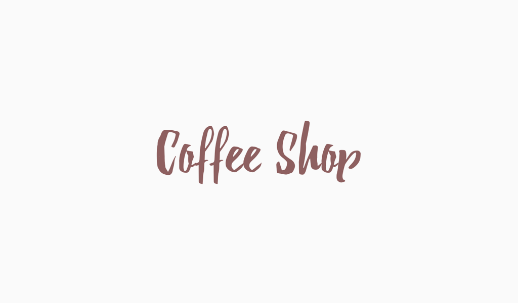 Lettering Logo minimalista