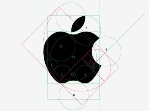 Processo de design de logotipo da Apple