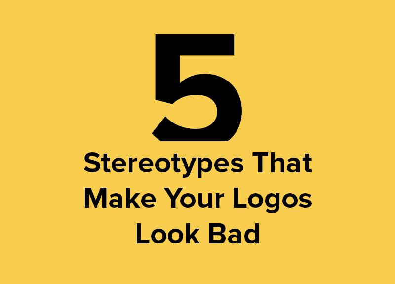 5 estereótipos de logotipo