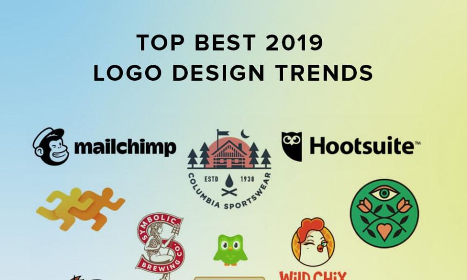 Principais tendências de logotipo de 2019